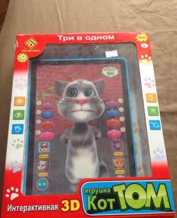 Детский планшет с котом коттом