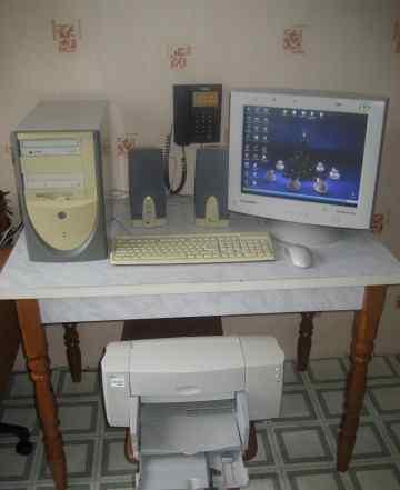 Компьютер (системный блок+ монитор+ клавиатура)