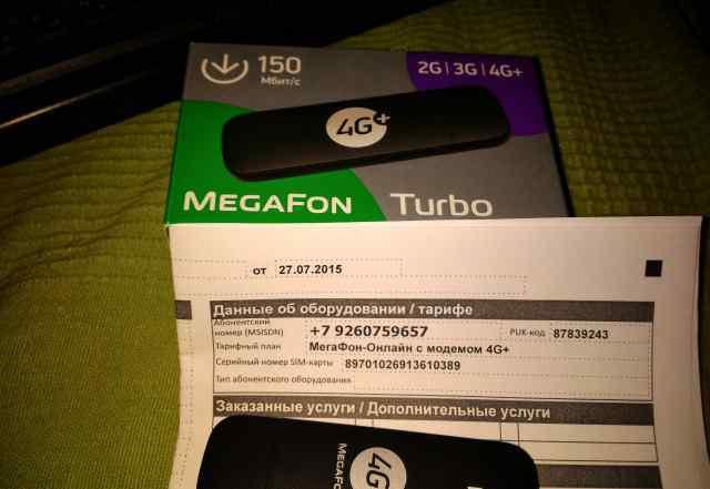 Usb модем 4g+ megafon turbo Huawei E3372