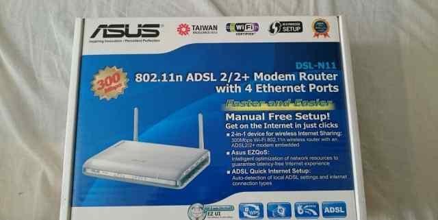WiFi роутер asus DSL-N11