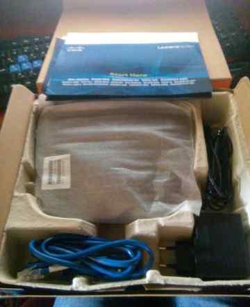 Wi-Fi роутер Linksys WRT160NL