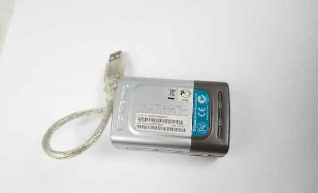 Сетевой адаптер USB-RG-45 D-link DUB E-100