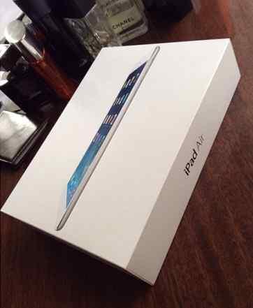 Apple iPad Air 16Gb Wi-Fi + Cellular (серебристый)