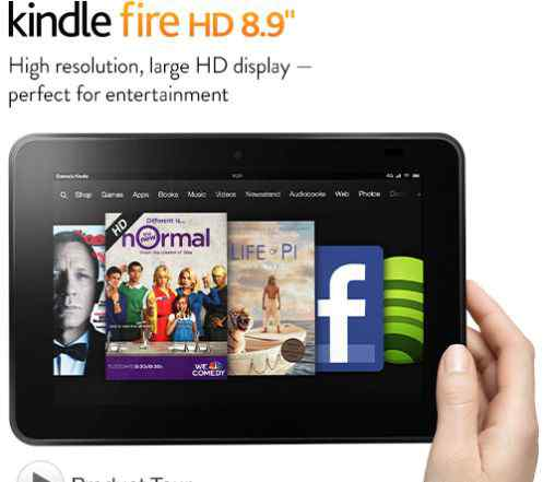 Kindle Fire HD 8.9 64Gb LTE