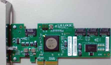 SAS контроллер LSI logic SAS3041E