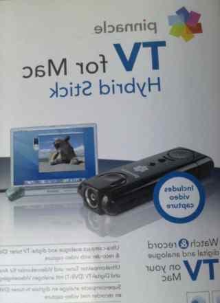 Pinnacle TV for Mac hybrid stick