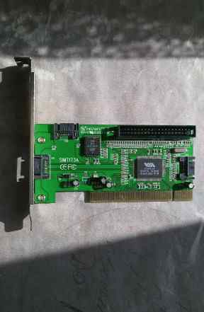 Контроллер PCI для SATA и IDE