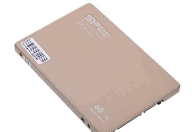 SSD 2.5 60 Gb Silicon Power SATA III S60, новый