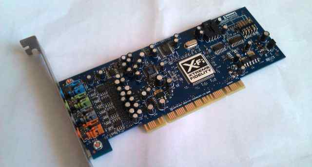 Звуковая карта Creative X-Fi Xtreme Audio 7.1 PCI