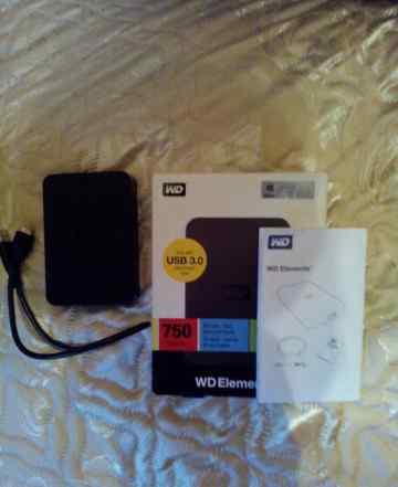 USB 3.0 HDD 750Gb