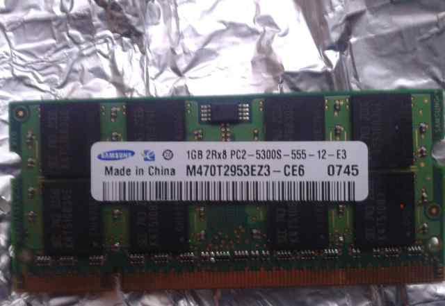 Kingston dimm DDR 2 и Samsung DDR 2