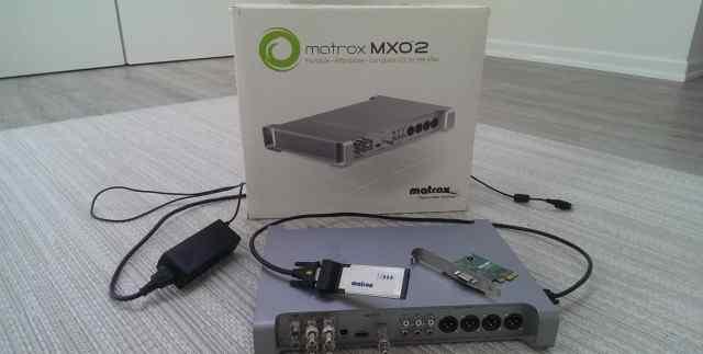 Matrox MXO2 External Video I/O for PC/Mac