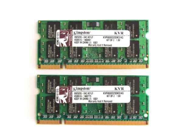 Kingston KVR800D2S5K2/4G