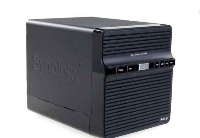 Сетевое хранилище synology ds409 с дисками 3tb
