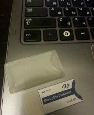Адаптор для карт Memory Stick PRO Duo