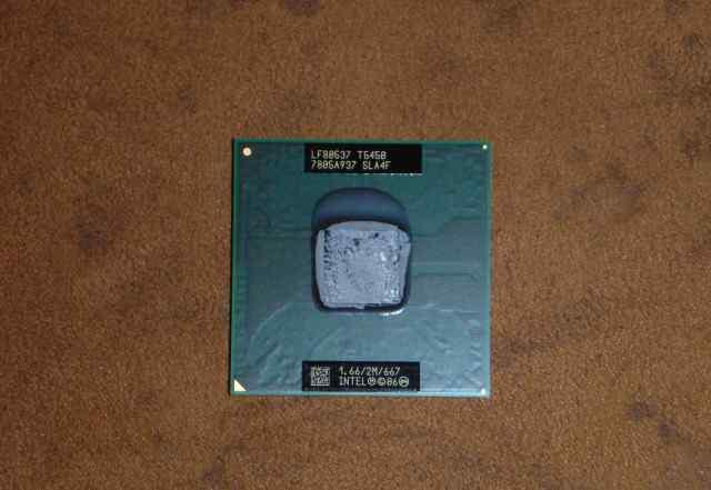 Intel Core Duo T5450, P9600