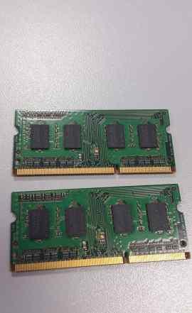 Samsung m471b5773chs-ch9 2x2Gb DDR3 1333мгц