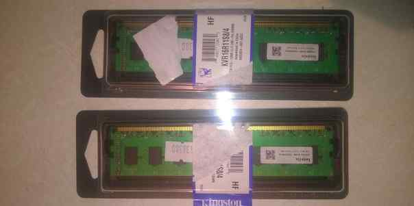 2 планки оперативной памяти Hynix DDR3 1333 dimm