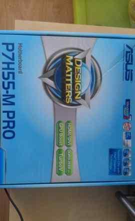 Asus Р7Н55-М PRO + процессор Intel Core I5