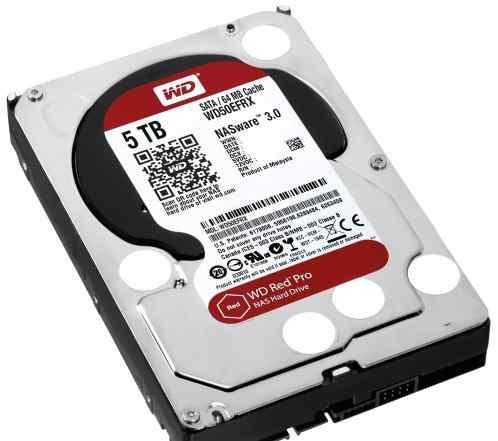 Жесткий диск Western Digital WD50efrx 5TB 3.5