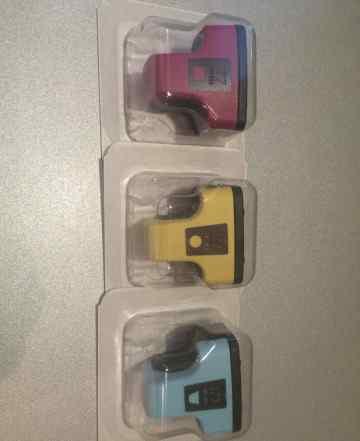 Три картриджа HP