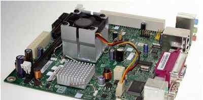 Плата Intel 945gclf, Atom 230 1.6GHz, 2Gb