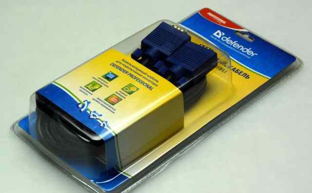 Кабель для монитора svga hddb15 M/M, 1.8м, новый