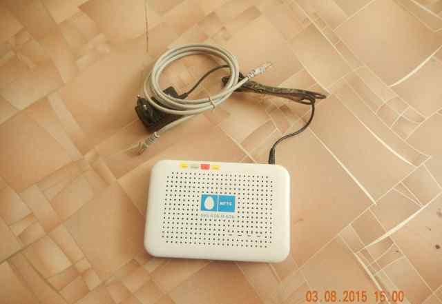 Модем ZTE adsl router