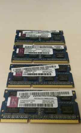 Оперативная память sodimm DDR3 2 Гб