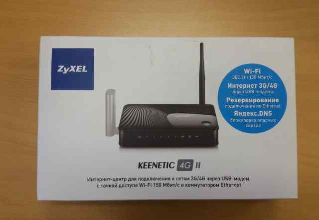 Роутер ZyXel Keenetic 4G II