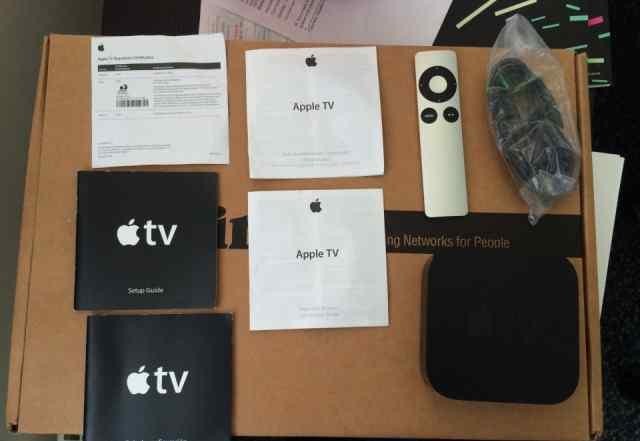 Медиа приставка Apple TV A1427 + пульт apple remot