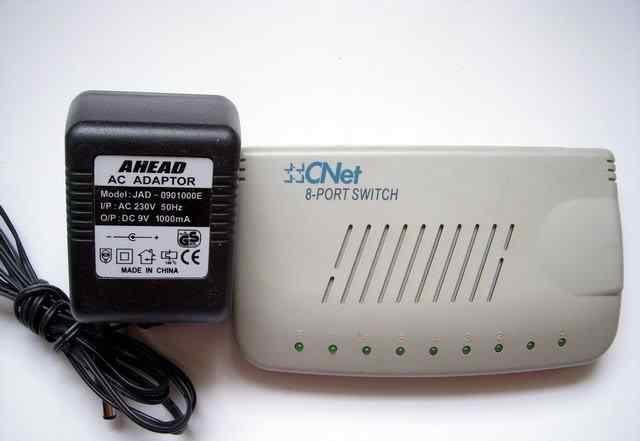 Switch C-Net 8-port коммутатор 8 портов 100 Мбит