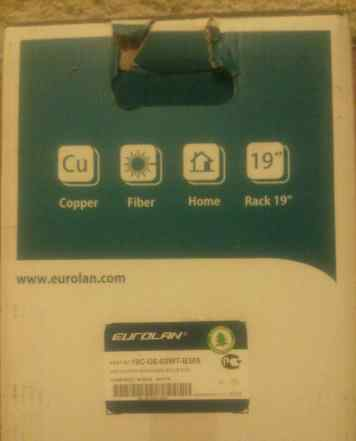 Eurolan utp 6 категория 305м, бухта кабеля, 19c-u6