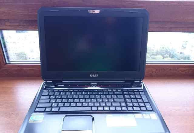Игровой ноутбук MSI GT60
