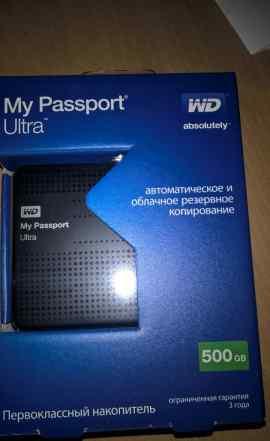 WD My Passport Ultra 500Gb