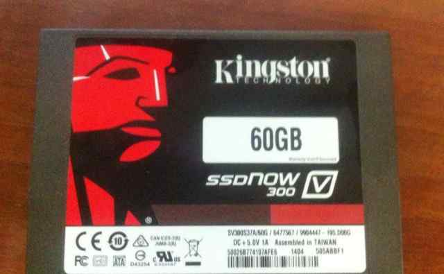 Kingston SSD Now V300 60Gb (SV300S37A/60G)