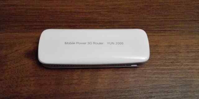 YUN2000 Portable 3G 150Mbps Wireless Wi-Fi Router