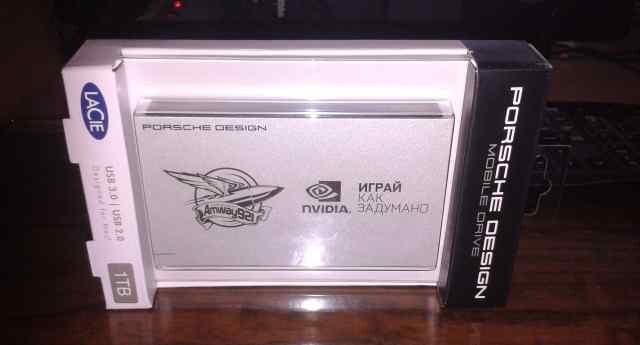Жесткий диск LaCie P 9223 USB3.0- 1тб
