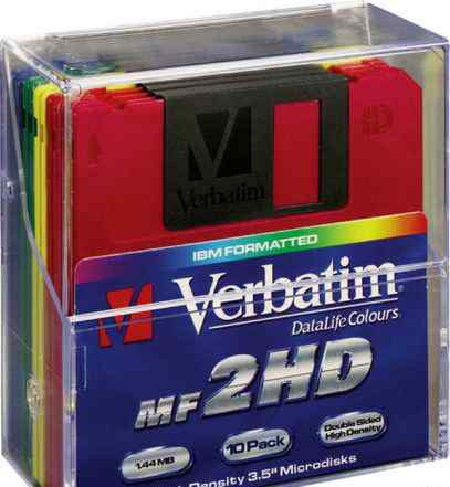 Дискета Verbatim DataLife Colours 45215 новые