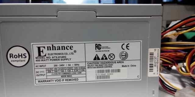 Enhance Electronics ATX-0140G 400W