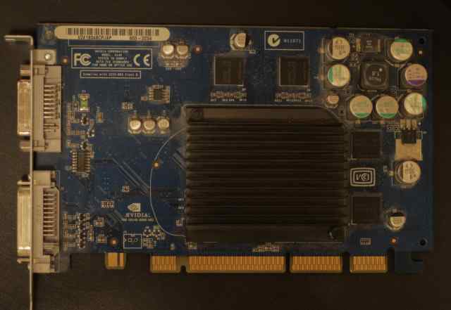 Видеокарта для PowerMac G5 AGP Nvidia FX 5200