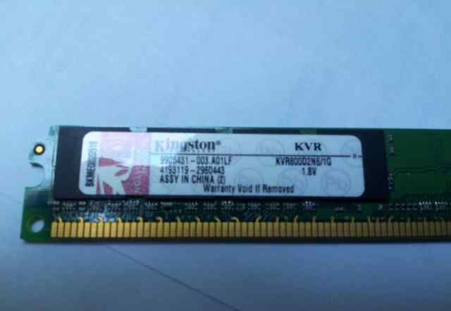 Kingston KVR800D2N6/1G 1Gb