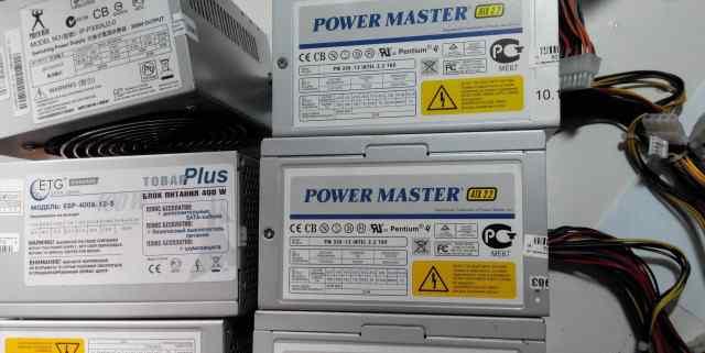 Бп Power Master PM350-12 Intel ATX v.2.2 TUV