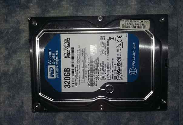 Жесткие диски Western Digital 500GB