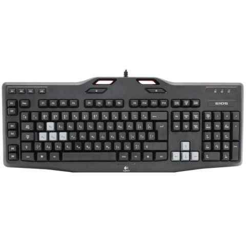 Клавиатура с подсветкой Logitech Gaming G105