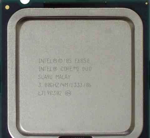 Intel Core 2 Duo E6850 (3GHz, 4Mb, 1333MHz)