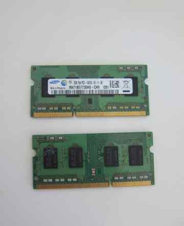 Оперативная память SO-Dimm samsung 2x2Gb 1333 mac