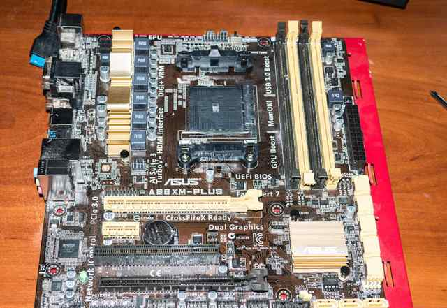 Материнская плата + процессор AMD FM2+ /A88X