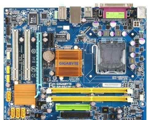 Продаеться gigabyte GA-EG31M-S2 775 комплекте