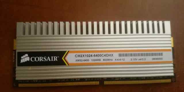 Оперативная Память Corsair 1024 мб 800 MHz DDR2